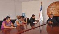 Alcalde de Alto Hospicio dialogó con pobladoras de toma de terrenos de La Pampa