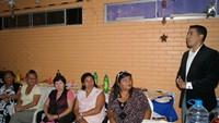 Jóvenes de Población Isluga cuentan con Taller deportivo inaugurado por SENDA