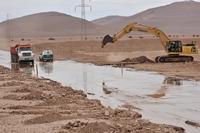 Seis personas desaparecidas en el sector de la Quebrada de Tarapacá a consecuencia de intensas lluvias