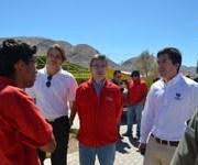 Programas de empleos para reconstrucción de agricultores de Huara
