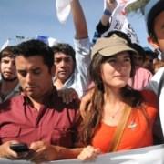 Calama sale a la calle y Camila Vallejo concentra la polémica