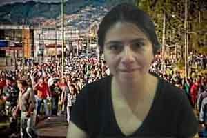 Claudia Torres: La Voz de Radio Santa María y su Balance de Cuarenta Días de Lucha