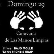 Hoy es «Caravana de las manos limpias» de apoyo a Jorge Soria