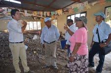 Alcalde de Huara verificó en terreno daños sufridos en Laonzana