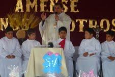 Masiva Liturgia de Jueves Santo en Colegio San Antonio de Matilla