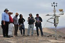 Visita inspectiva al Oásis de Niebla Alto Patache realizó comitiva municipal