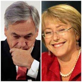 """Influyente encuesta señala que Bachelet """"arrasa"""" con Golborne. Le gana por 51 % contra 7%"""