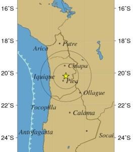 Fuerte sismo de 4.7 grados despertó a las regiones del norte, esta madrugada