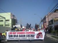 Estudiantes de Iquique marcharon en rechazo al lucro en la educación