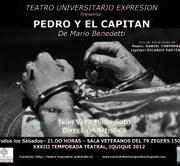Esta sábado nueva puesta en escena de obra de Benedetti «Pedro y el Capitán»