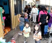 Emergencia sanitaria: 6 casas inundadas con aguas servidas