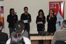 Con relatos musicalizados y dramatizados rescatan mitos de Tarapacá