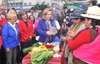 Cecilia Morel participó en Seminario Elige Vivir Sano en Iquique