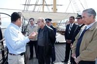 Ministro de Defensa de Argentina  visitó Museo Corbeta Esmeralda