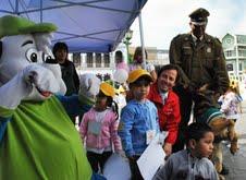 Niños de los Jardines Infantiles celebraron su día