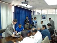 Revisan estudio de mitigación de tsunamis en Iquique