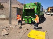 Sólo el 18 de Septiembre no habrá recolección de la basura en Iquique