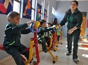 Alto Hospicio: Implementan máquinas de ejercicios en 3 jardines infantiles