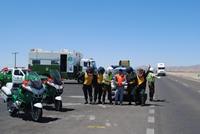 Tortugas ninjas de Carabineros en la prevención de los accidentes de tránsito