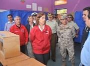 Autoridades regionales recorren cuatro locales de votación en Iquique y Alto Hospicio