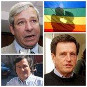 Parlamentarios de derecha han manifestado rechazo a homosexuales