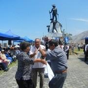 Emotivo inicio de la celebración de la Semana de Salitre 2012 en Rotonda del Pampino