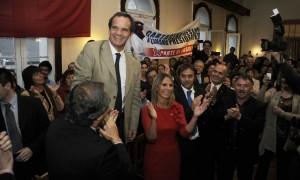 """Andrés Allamand: """"El corazón del Presidente Piñera estará más cercano a mi candidatura"""""""