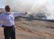 Fuertes críticas de Galleguillos a autoridades por falta de reacción ante incendio en el Vertedero