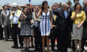 El piropo de Piñera para la alcaldesa de Antofagasta