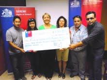 Premian a las dos organizaciones sociales ganadoras  del Fondo de Fortalecimiento Regional