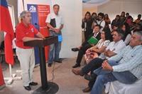 57 familias del Comité de Vivienda Gladys Marín recibieron subsidios