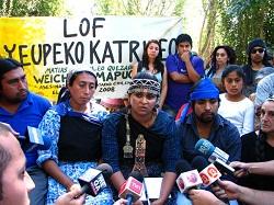 """Comunidades mapuche: """"No queremos más muertos, ni de uno ni del otro lado"""""""