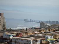 Caída de poste de telecomunicaciones provocó corte de luz en sector sur de Iquique