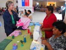Mujeres desarrollan exitosas iniciativas emprendedoras en La Tirana