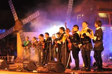 Chile, Bolivia y Perú en  XXVIII Festival de Tunas y Estudiantinas entre el 13 y 16 de febrero
