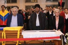 """Evo Morales asegura que el imperio """"envenenó"""" a Hugo Chávez"""