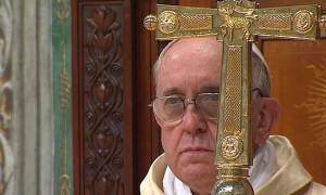 """""""Si la Iglesia no proclama a Jesús se convierte en una ONG"""", dijo Francisco en su primera misa"""