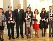 Fiscal jefe de Pozo Almonte y la técnico jurídico de Iquique fueron distinguidos por Fiscal Nacional