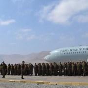 Recambio de contingente de Fuerzas Especiales de Carabineros, para reforzar servicios preventivos