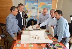 Alcalde Soria se reunió con ministro Elizalde para dialogar sobre plan de reconstrucción
