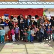 Junto a parvulitos celebran día de prevención del consumo de drogas