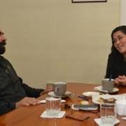 Ahora diputado Gutiérrez se reunió con directora de Sename para conocer accionar de la institución
