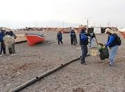Brigadistas medioambientales extraen más de 37 toneladas de basura en 15 kilómetros del borde costero