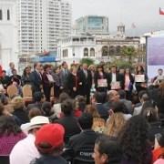 Vivienda destaca avances en soluciones tras los terremotos de abril