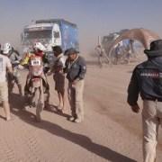 Completo despliegue de Aduanas para fiscalizar a vehículos del Dakar 2015
