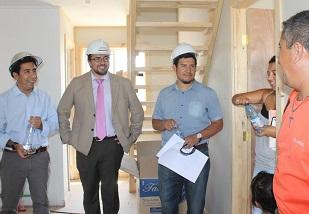 """Beneficiaria de vivienda post terremoto: """"No estaba muy convencida al prinicpio"""""""