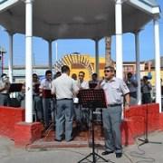 VI División presentó retreta musical en histórico barrio iquiqueño