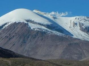 Se declara Alerta Temprana Preventiva para la Provincia de Parinacota por actividad del volcán Guallatiri