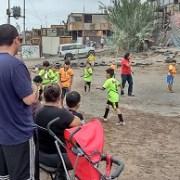 En busca de prevención, se realizó una jornada deportiva en sector vulnerable