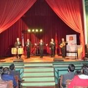 """El Teatro de Oficina Humberstone recibió al grupo """"Los Cuatro Cuartos"""""""